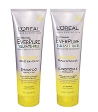 L'Oreal Hair EverPure Sulfate Free Blonde Shampoo and Conditioner 8.5 Oz Combo