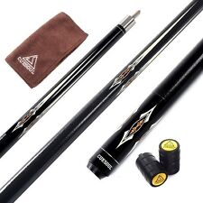 Gift! CUESOUL 58 inch 1/2 Jointed Maple Pool Cue Stick 19 oz Billiard Cue 05