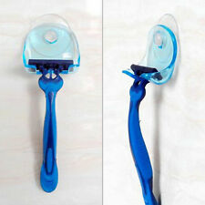 Wall-mounted Plastic Bathroom Shaver Razor Holder Cupula Shaver Caps Rack DZ
