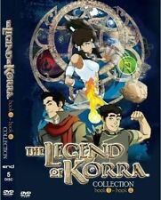 DVD The Legend of Korra Collection Book 1 to Book 4 English Dubbed