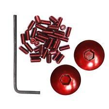 DMR Pimp my (v12) BMX / MTB / downhil pédales en rouge (pins / embouts)