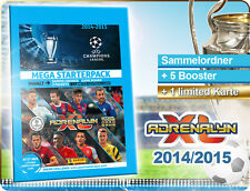 Adrenalyn Champions League 2014/2015 Mega Starterpack Binder Mappe Panini 14/15