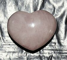 Rose Quartz Carved Pocket Heart Ideal Wedding Favours x 10