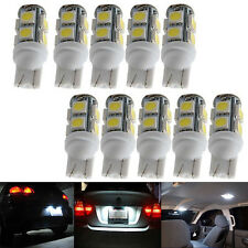 10x Weiß Licht 9LED 12V T10 SMD 5050 Auto Seitenblinker Rücklicht Birnen Lampen