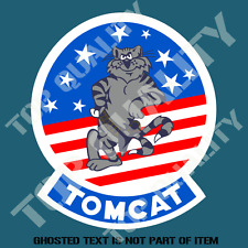 F14 TOMCAT US MILITARY DECAL STICKER VINTAGE AMERICAN AIR FORCE DECAL STICKERS