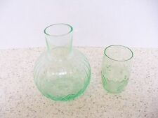 depression green bed side water jug with glass-water pitcher (B)