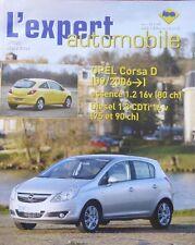 Revue technique OPEL CORSA D depuis 09/2006 essence diesel EXPERT N° 481 2009