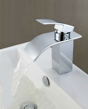 New Stainless Steel Single Handle waterfall Bathroom Faucet