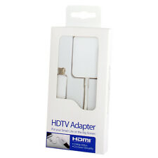 ADAPTADOR DE VIDEO ESPEJO MIRRORING MICROUSB MHL 2.0 A HDMI 1080P FULL HD BLANCO