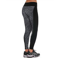 NEW Womens Girls Yoga Fitness Leggings Running Gym Stretch Sports Pants Trousers