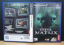 ENTER THE MATRIX - PS2 - PlayStation 2 - PAL - Italiano - Usato