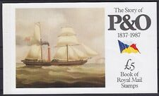 GB MH 80 ** Markenheftchen The Story of P&O, Booklet, postfrisch, MNH