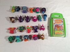 joblot of 21x series 3 moshi monsters and top trumps game broccoli spears nipper