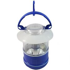 3LED Blue Mini Camping Lantern w/ Convenient Carry Handle