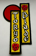 TOKYO BLADE Shaped Embroidered Sew On Patch (not badge cd lp) MR143