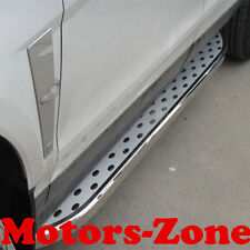 10-16 Cadillac SRX SUV Aluminum Running Boards Pair Set Side Steps OE Style