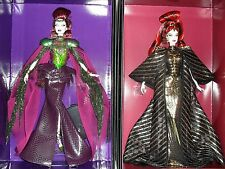 EMPRESS OF THE ALIENS AND QUEEN OF THE CONSTELLATIONS BARBIE WITH SHIPPERS