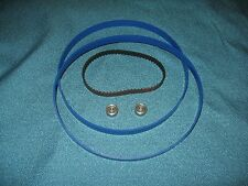 2 BLUE MAX BAND SAW TIRES DRIVE BELT AND NEW THRUST BEARINGS FOR DELTA BS100