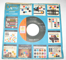 "Audi Badoo 7"" 45 DJ PROMO HEAR GARAGE ROCK Troubles I Don't Know How You Do The"