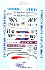 1/32 Super-Scale DECALS 32-95; F-16A Illinois & New York ANG