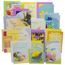 48pk Assorted Greeting Cards Lot With Envelopes Every Occasions Birthday Box Set