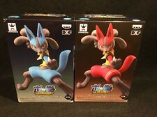 USA SELLER New Pokken Tournament DXF Figure Lucario Blue Red Player 1 & 2