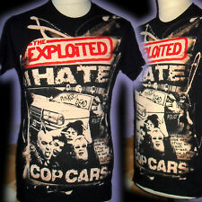 THE EXPLOITED 100% UNIQUE PUNK  T SHIRT SMALL  BAD CLOWN CLOTHING