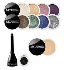 MICA Beauty 8 Shimmers #8.#56.#90.#28.#23.#40.#98.#76 +Black Gel liner+Primer