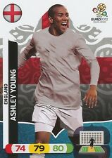 ASHLEY YOUNG # ENGLAND CARD PANINI ADRENALYN EURO 2012