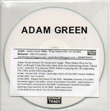 (AP355) Adam Green, What Makes Him Act So Bad - DJ CD