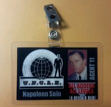 Man From UNCLE ID Badge-All Access Agent 11 Napoleon Solo