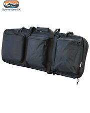 MULTIPLE WEAPONS CARRIER BLACK PADDED RUCKSACK GUN BAG ASSAULT AIRSOFT ARMY
