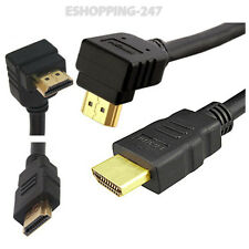 1M Right Angle HDMI 1.4 1080p 3D Digital Camera Cable For Home Theater LCD B046