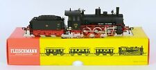 FLEISCHMANN HO 4124 DR 53 0-6-0 & TENDER FABULOUS RUNNER LIGHTS NEAR MINT BOXED