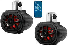 Boss Audio MRWT69RGB UTV 1200 Watt Waterproof Speaker Pair with Remote