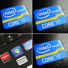 Intel Core i7 all'interno adesivo badge 2nd 3rd Generation Desktop LOGO 25mm x 18mm