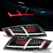 Blk 2007-2014 Audi TT/TT Quattro Tail Lights LED Parking Sequential signal Lamps