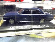 MERCEDES BENZ Strich 8 E-Klasse blau blue W115 IXO Altaya Atlas S-Preis 1:43
