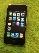 Apple iPhone 3g - 8GB - Black (Factory Unlocked) tmobile att etc combined ship
