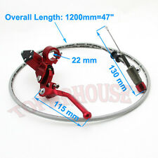 1200mm Line Hydraulic Clutch Lever Master Cylinder Dirt Pit Bike ATV Motorcycle