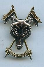 Scottish and North Irish Yeomanry (SNIY) Metal Cap Badge