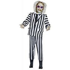 Life-Size Animated Beetlejuice Decoration Adult Beetlejuice Halloween