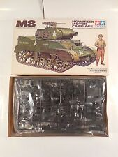 UN-BUILT VINTAGE WWII US M8 HOWITZER MOTOR CARRIAGE 1:35 SCALE MODEL KIT TAMIYA