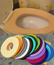 Bathroom Toilet Seat Warmer Cover  Washable Hi Quality Tan Beige  LifeLong Needs