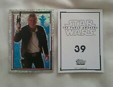 Topps - Star Wars VII - 2016 - Individual Sticker - New - No.39 Han Solo
