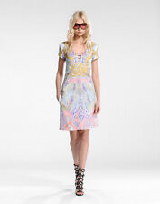 NEW EMILIO PUCCI RUNWAY FALL WINTER 2016 CURRENT SEXY SHORT DRESS I 40 US 4 NWT