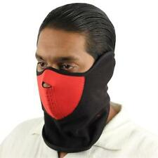 Black Red Face & Neck Mask - Airsoft - Paintball - Motorcycle - NEW - Mask10