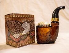 Avon American Eagle Pipe Wild Country Cologne 5oz Decanter FULL In Original Box!