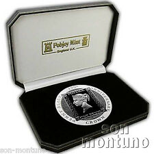 2015 Isle of Man 5 OZ SILVER PROOF COIN - 175th Anniversary of Penny Black Stamp