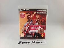 SINGSTAR GUITAR * HERO * KARAOKE * SONY PS3 PAL ITA ITALIANO COMPLETO COME NUOVO